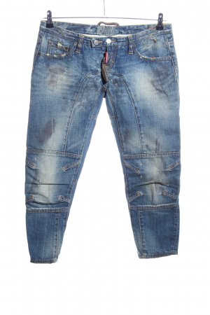 Dsquared2 3/4-jeans blauw casual uitstraling