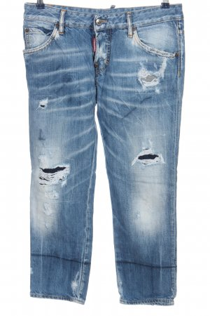 Dsquared2 3/4 Jeans blau Casual-Look