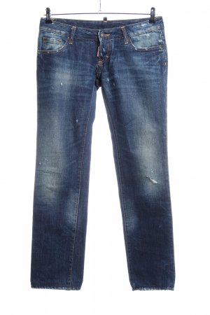Dsquared2 7/8-jeans blauw casual uitstraling