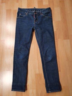 Dsquared2 7/8-jeans blauw-donkerblauw