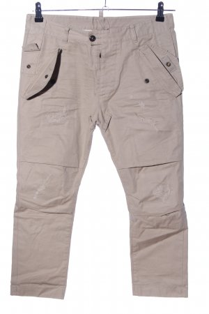 Dsquared2 Baggy Pants natural white casual look