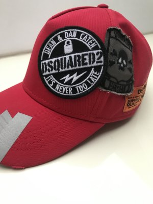 Dsquared2 Visor Cap multicolored cotton