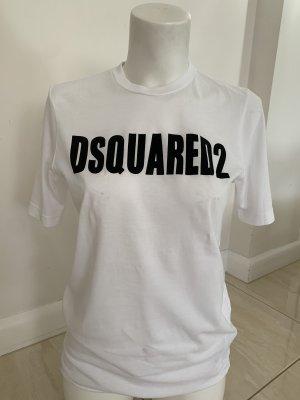 Dsquared2 Camiseta estampada blanco-negro