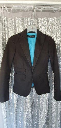 Dsquared2 Klassischer Blazer nero-azzurro