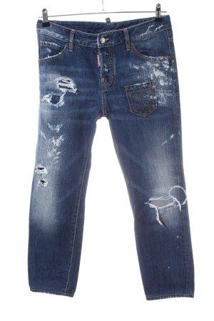 Dsquared2 Jeans boyfriend bleu style mode des rues