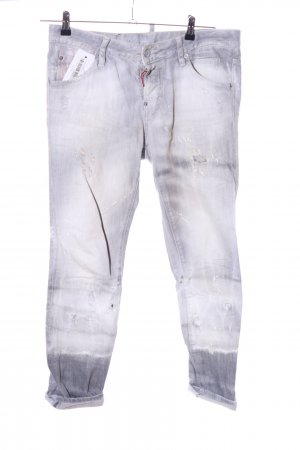 Dsquared2 Boyfriend Jeans light grey casual look