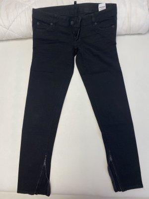 Dsquared2 7/8 Length Jeans black