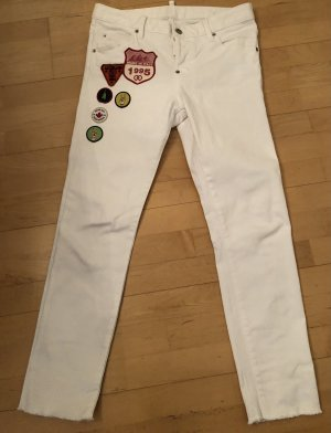 Dsquared2 Cool Girl Jeans, weiß, Gr. IT 38