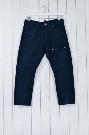 DSQUARED2 D2 Damen Jeans 7/8-Länge Baumwolle Schwarz Gr.ital.40/dt.34