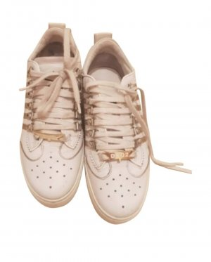 Dsquared2 Sneakers met veters wit-room