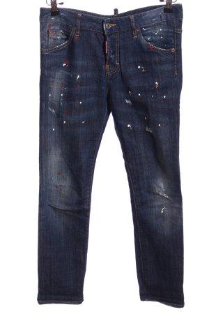 Dsquared2 Five-Pocket-Hose blau Casual-Look