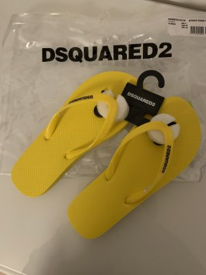 Dsquared2 Toe-Post sandals yellow