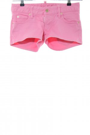 Dsquared2 Hot Pants pink casual look