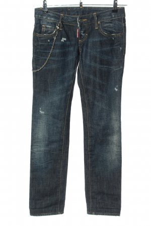 Dsquared2 Hüftjeans blau Casual-Look