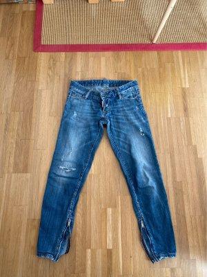 Dsquared2 Low Rise jeans azuur