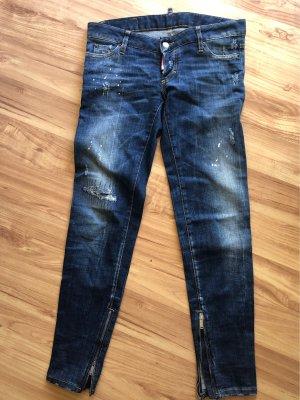 Dsquared2 Jeans vita bassa multicolore