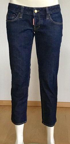 DSQUARED2 JEANS GR. 44 BLAU 5-POCKET LOGO