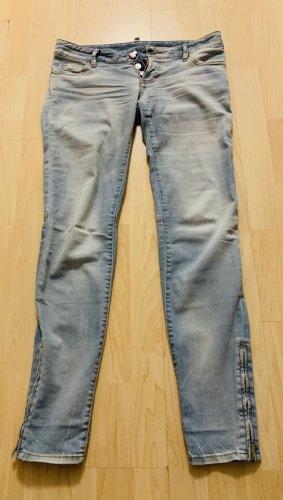 Dsquared2 Jeans a sigaretta azzurro