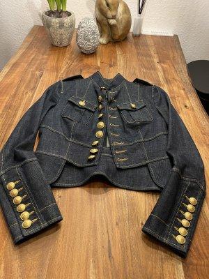 Dsquared2 Veste en jean bleu foncé