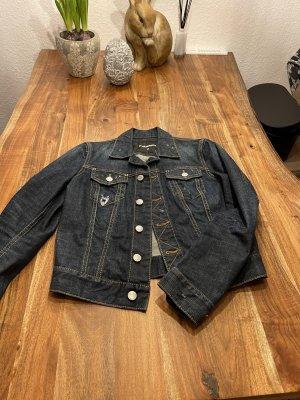 Dsquared2 Veste en jean bleu