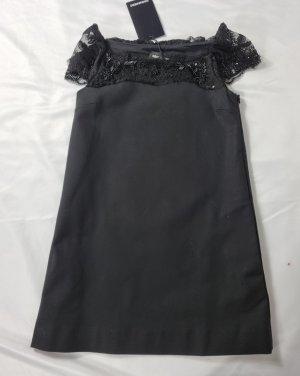 Dsquared2 Robe de bal noir viscose