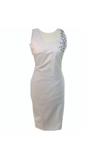 Dsquared2 Kleid Glitzer weiß