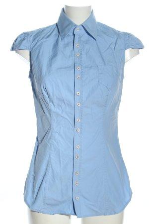 Dsquared2 Camicia a maniche corte blu stile professionale