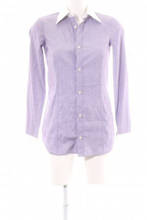 Dsquared2 Langarm-Bluse lila meliert Business-Look