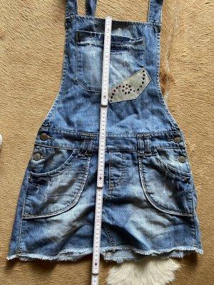 Dsquared2 Latzkleid Jeanskleid kurz Gr XS-S in top Zustand