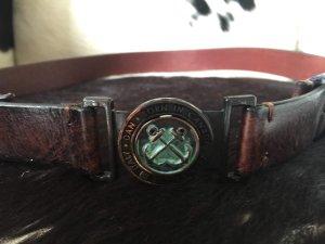 Dsquared2 Cinturón de cuero multicolor
