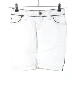 Dsquared2 Minirock weiß-schwarz Casual-Look