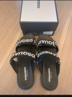 Dsquared2 Sandalias con tacón negro