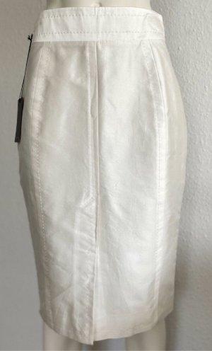Dsquared2 Silk Skirt cream-white