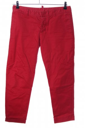 Dsquared2 Röhrenjeans rot Casual-Look