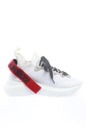 "Dsquared2 Schnürsneaker ""Mesh Sport Sneakers"" weiß"