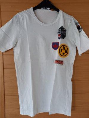 Dsquared2 T-shirt blanc tissu mixte