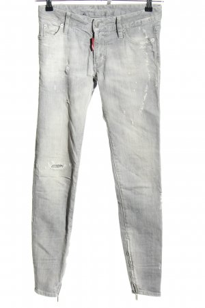 Dsquared2 Slim Jeans hellgrau Casual-Look