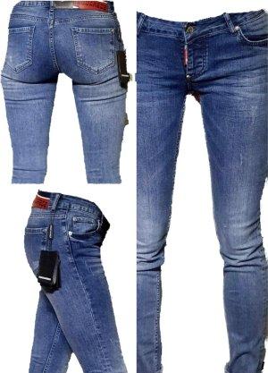 Dsquared2 Slim Jeans light blue