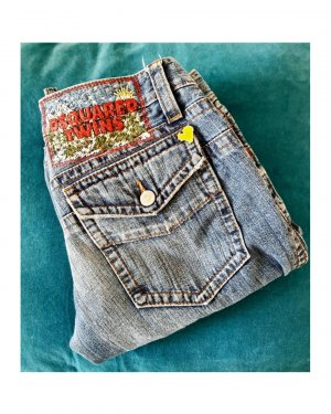 Dsquared2 Jeans slim fit azzurro