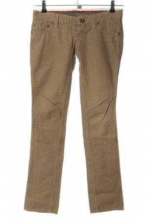 Dsquared2 Stoffhose Karomuster Business-Look