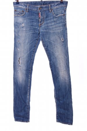 Dsquared2 Straight-Leg Jeans blau Casual-Look