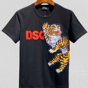 Dsquared2 T-shirt bianco-nero