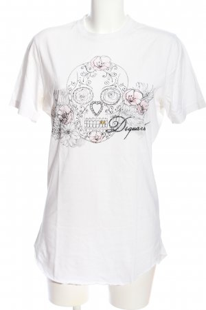Dsquared2 T-Shirt Motivdruck Casual-Look