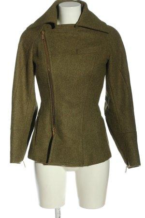 Dsquared2 Giacca di lana cachi-marrone puntinato stile casual