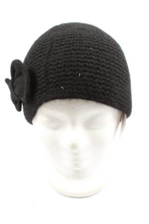 dtLm Don't Label me Sombrero de punto negro look casual