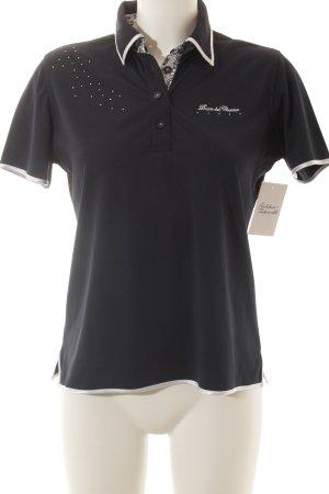 Duca del Cosma Polo-Shirt dunkelblau-weiß sportlicher Stil