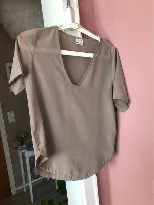 Gina Tricot Short Sleeved Blouse grey-light grey