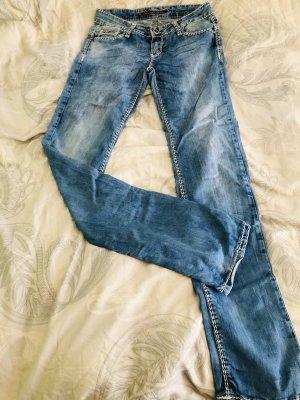 Cipo & Baxx Straight Leg Jeans multicolored