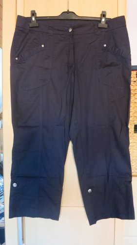 bpc bonprix collection Pantalone a 7/8 blu scuro