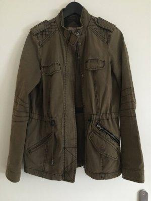 Clockhouse Military Jacket green grey